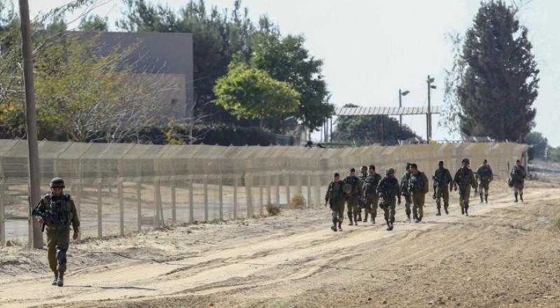 جدار عازل حول غزة