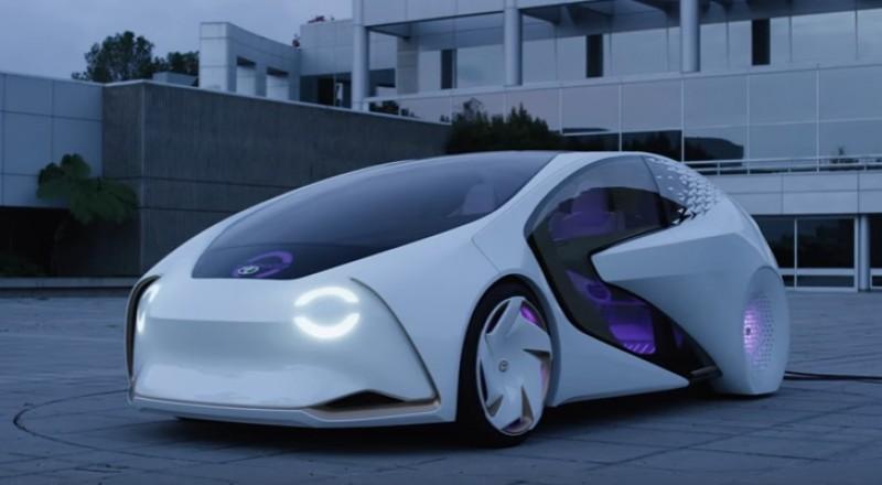 شاهد.. سيارة تويوتا الجديدة