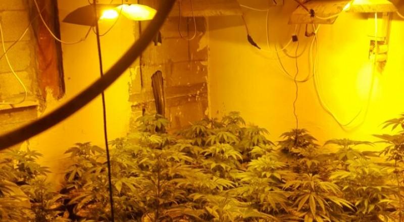 الشرطة تكشف عن معمل مخدرات داخل منزل برهط