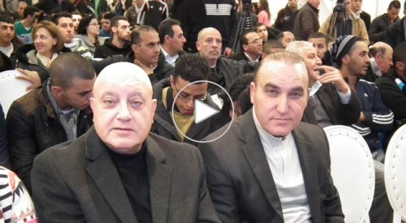 القائمة المشتركة تعقد مهرجانها الانتخابي الاول في الناصرة بحضور حاشد