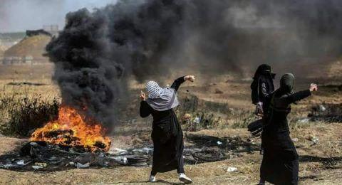 شهيد ونحو ألف إصابة بقمع الاحتلال مسيرات