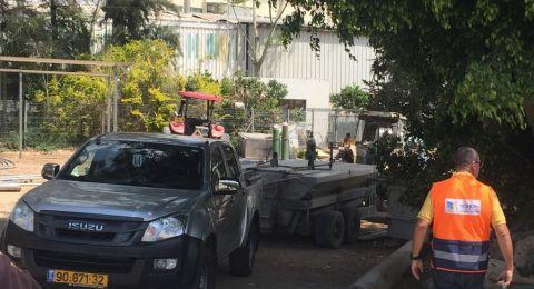 ضحية حادث العمل هو وليد (موسى) جزماوي، من باقة الغربية