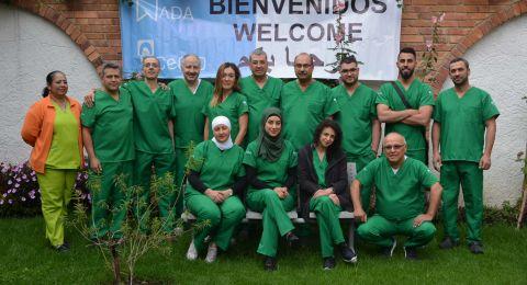 انطلاق القسم العملي من دورة زراعة الأسنان المتقدمة التي تنظمها جمعية أطباء الأسنان العرب، في كولومبيا