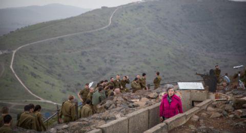 إسرائيل تغلق المجال الجوي فوق هضبة الجولان