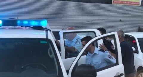 اعتقال ثلاثة متظاهرين حاولوا اغلاق شارع 65 بتظاهرة احتجاجية