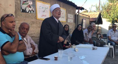 الشيخ عكرمة صبري يطالب بشد الرحال إلى المسجد الأقصى