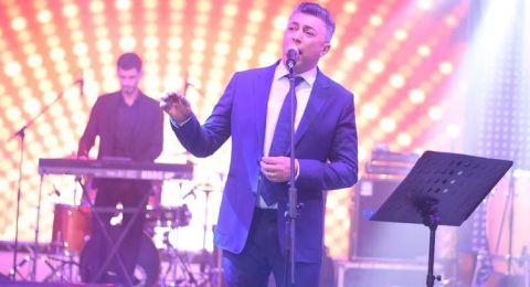 عمر العبداللات ينثر رسالة محبة من الأردن لمصر في حفل