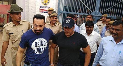 الإفراج عن النجم الهندي سلمان خان بعد سجنه يومين