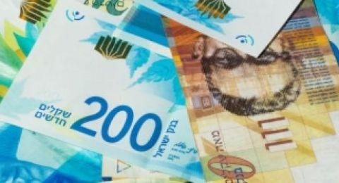 اسعار العملات:الدولار يتذبذب مقابل الشيقل