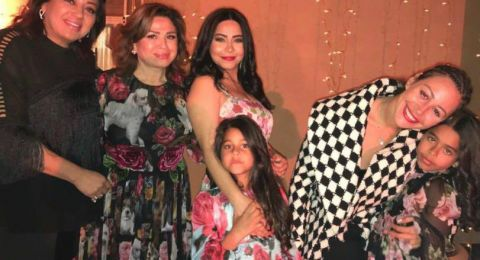 منة شلبي تثير الجدل باطلالتها في حفل زفاف شيرين عبدالوهاب
