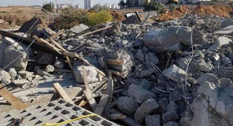 هدم منزلين لعائلتين في ابو غوش