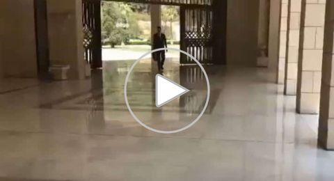 أول فيديو لظهور الرئيس الأسد بعد العدوان على سورية