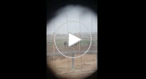 الحكومة الاسرائيلية تُحقق في كيفية تسرب مشاهد استهداف فلسطيني