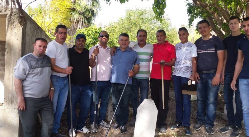 قرية مصمص تشهد يوم الأعمال التطوعيّة وسط مشاركة واسعة