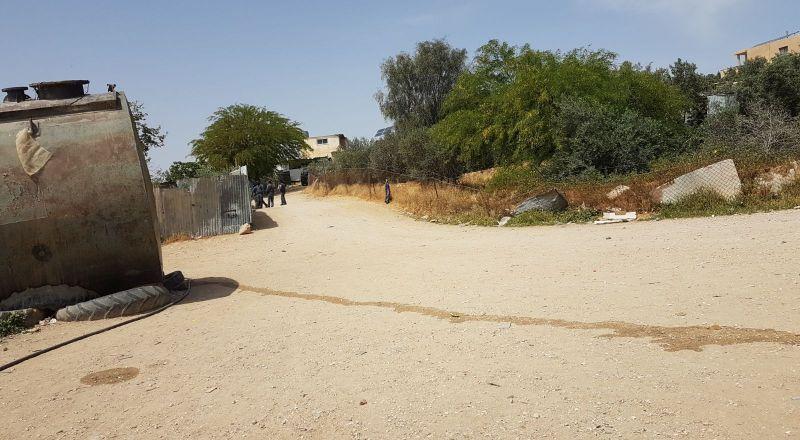 شرطة اسرائيل ودائرة الاراضي تجريان استطلاع لبيوت ام الحيران قبيل الترحيل