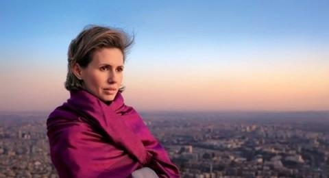 أنباء عن هروب أسماء الأسد الى لندن