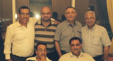 لقاء بين امير قطر ووفد عن فريقي اخاء الناصرة واتحاد سخنين