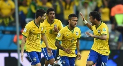 ثنائية نيمار تقود البرازيل للفوز على كرواتيا في افتتاح المونديال