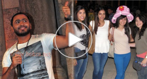 تامر حسني يتالق ويطرب جمهور مهرجان جرش
