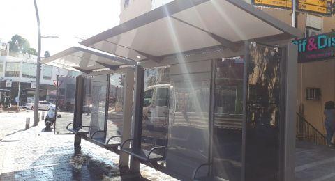 مئات من محطات الباصات الجديدة ستقام في انحاء حيفا!