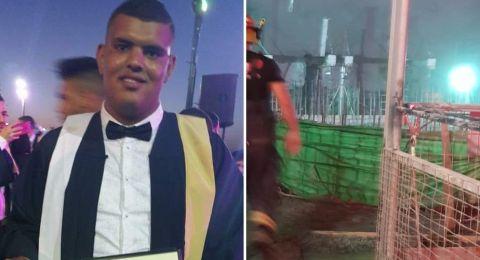 الشاب محمد عاهد زيادات من المقيبلة، ضحية حادثة العمل قرب بيسان