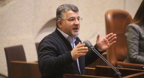 الكنيست ترفض قانون النائب جبارين لتعريف اسرائيل كدولة ديموقراطية ومتساوية