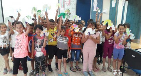 زخم غير مسبوق في مخيم مدارس العطلة الصيفية في شفاعمرو تحت عنوان