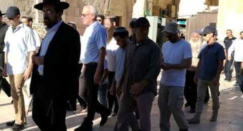 الأوقاف الإسلامية تستنكر اقتحام وزير الزراعة الإسرائيلي المسجد الأقصى