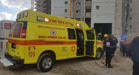 تل أبيب: مصرع عامل سقط عن ارتفاع 4 طوابق