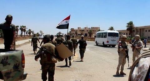مدينة درعا بكاملها تحت سيطرة الجيش السوري