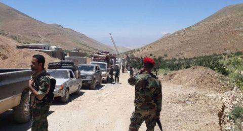 الجيش السوري يستعيد كامل الشريط الحدودي مع الأردن