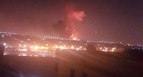انفجار ضخم قرب مطار القاهرة!
