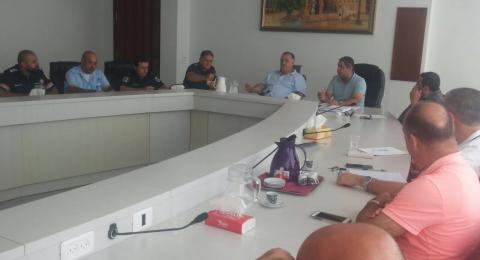 لجنة الطوارئ في بلدية الناصرة تبحث عدة أمور بينها