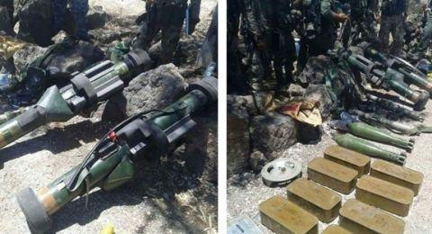 الجيش السوري يعثر على أنظمة مضادة للدبابات فرنسية الصنع في درعا