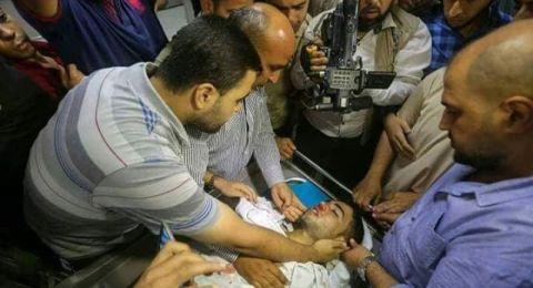 إستشهاد طفل برصاص الاحتلال شرق غزة