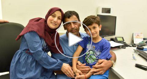 شاهد لحظة اطلاق سراح الطفل كريم جمهور