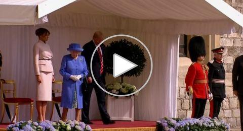 حتى الملكة إليزابيث لم تسلم من فظاظة ترامب