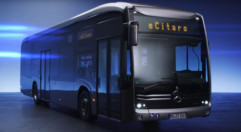 مرسيدس تطرح حافلات كهربائية مميزة