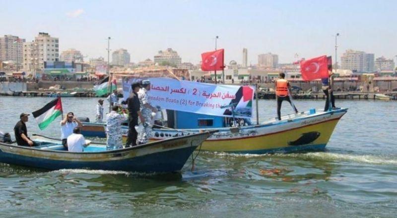 الجيش الاسرائيلي يقتاد سفينة كسر الحصار 2 الى ميناء اسدود