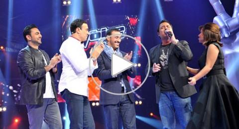 نجوم The Voice يحتفلون بعيد ميلاد كاظم الساهر