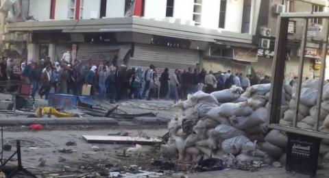 ضحايا وجرحى مدنيين بقصف جوي ومدفعي لمخيم اليرموك