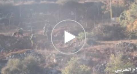 18 جندياً اسرائيليا يجتازون الحدود بين لبنان وفلسطين المحتلة