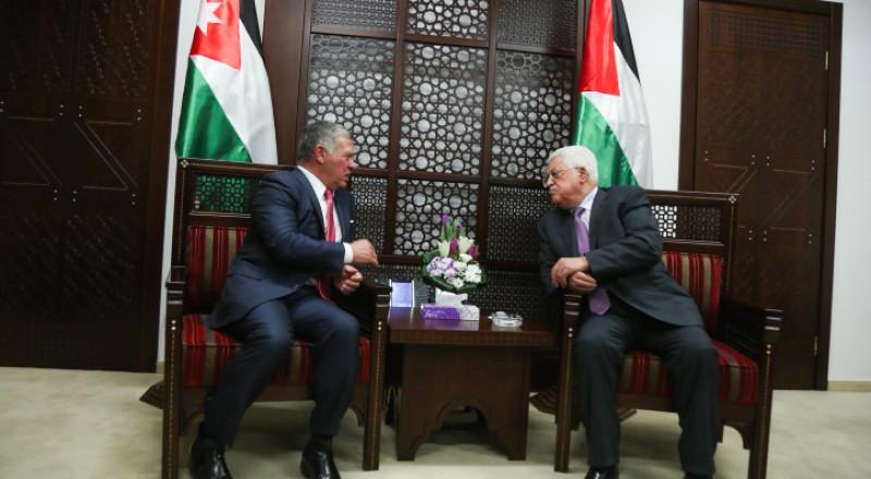 العاهل الاردني يتوقع انجاز في حل القضية الفلسطينية باشراف ترامب