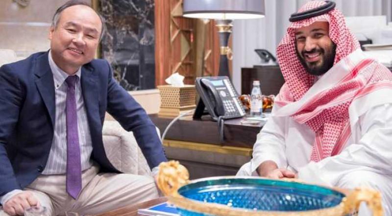 لقاء بن سلمان مع المستثمر الياباني،الدقيقة بمليار دولار