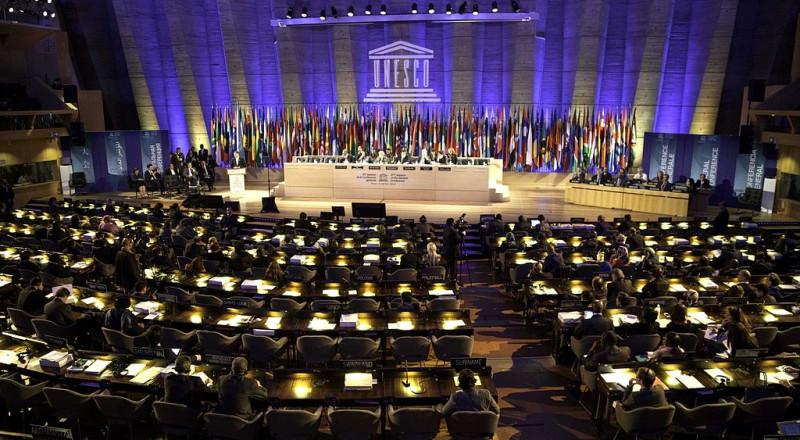 اليونسكو تعتمد بالإجماع قرارين لصالح فلسطين