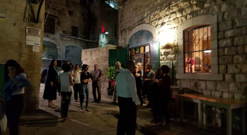 الناصرة: القاء قنبلة صوتية على مقهى ليوان