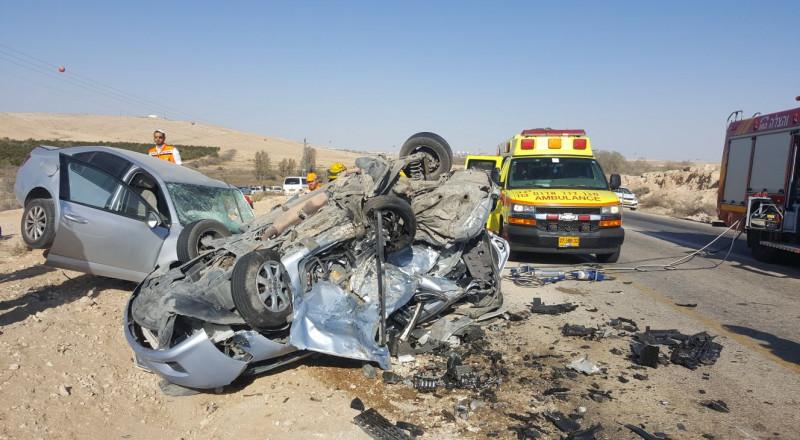 النقب: مصرع حسين الاصلع (19.5عاما) وطاهر الاصلع (19.2 عاما)في حادث طرق
