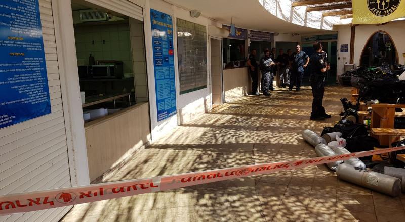 ايلات: انفجار اسطوانة اكسجين خاصة بالغوص تسفر عن اصابة 3 أشخاص