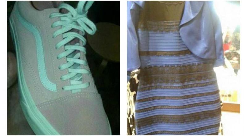 بالصور: أزمة لون الفستان تتجدد مع حذاء حيّر مواقع التواصل