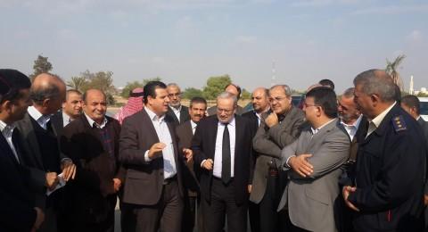 وفد القائمة المشتركة يلتقي في الشونة وزير الاوقاف الاردني لمتابعة ملف الحج والعمرة